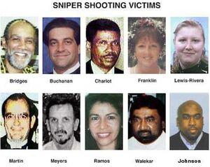 DC Sniper victims