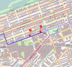 Marathon bombings map