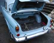 Volvo Amazon trunk
