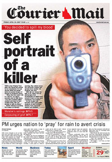 Courier Mail cover