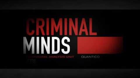 CRIMINAL MINDS. Opening Credits. 12th Version