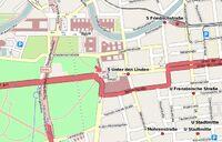 Map Brandenburger Tor