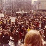 Fahrradsternfahrt 1979
