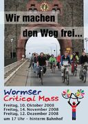 Worms CM3 Flyer (front)