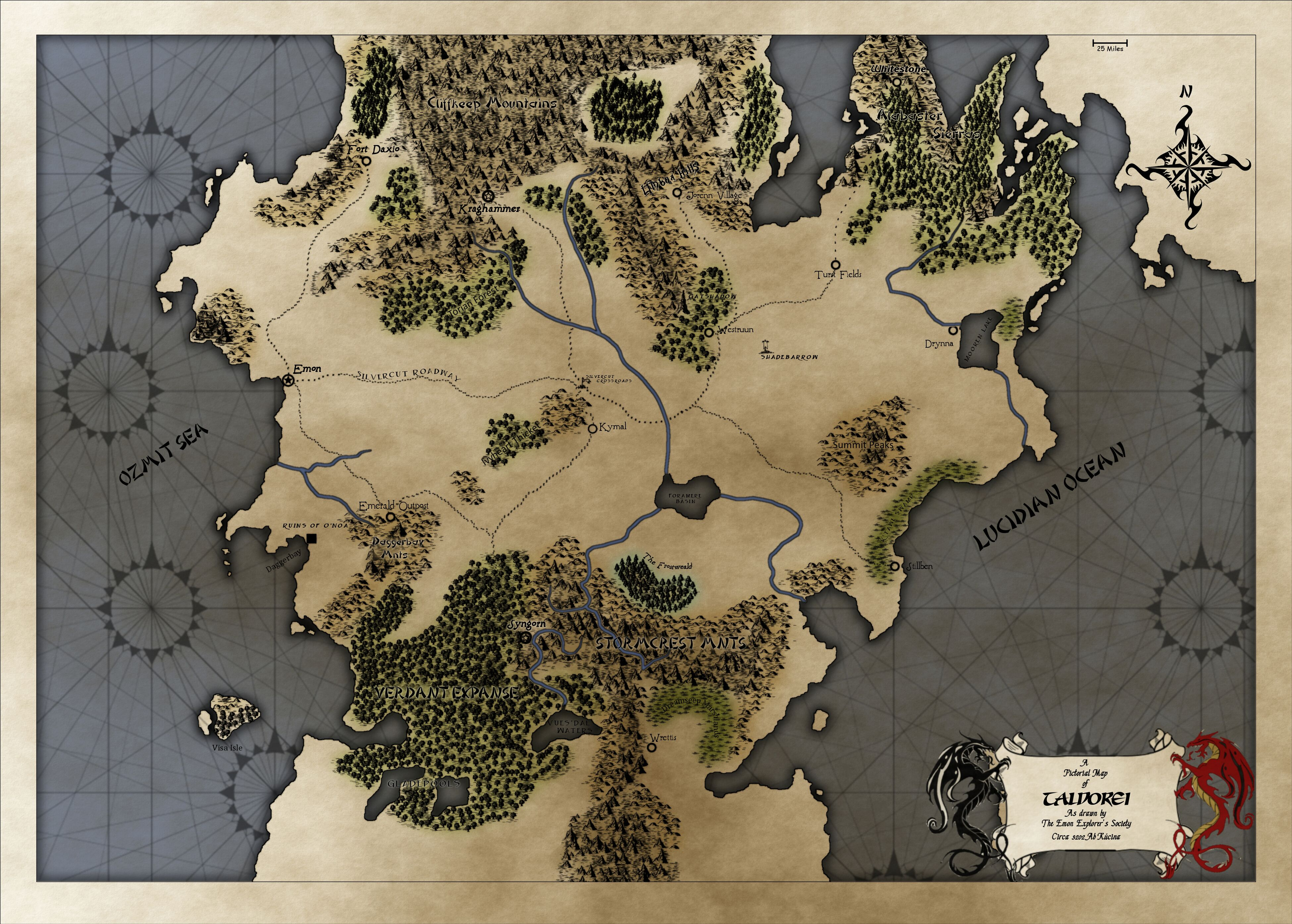 No Spoilers] Looking for a map of exandria : criticalrole