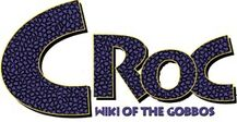 Croc Wiki Of The Gobbos wordmark