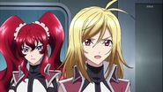 Cross Ange ep 23 Ange and Hilda