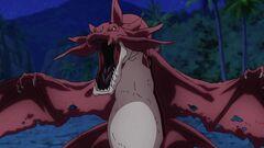 Cross Ange ep 05 Scuna-class Dragon
