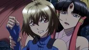 Cross Ange ep 15 Ange and Salamandinay