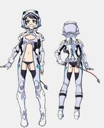 Coco Uniform Front Back