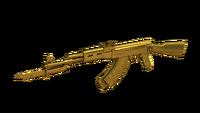 AK-47-Knife DMZ Gold