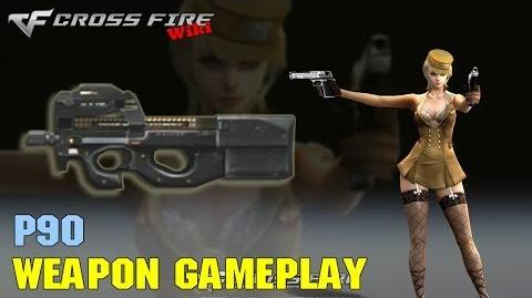 CrossFire - P90 - Weapon Gameplay