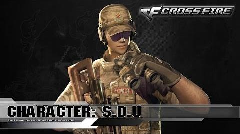 CrossFire Character SDU ☆