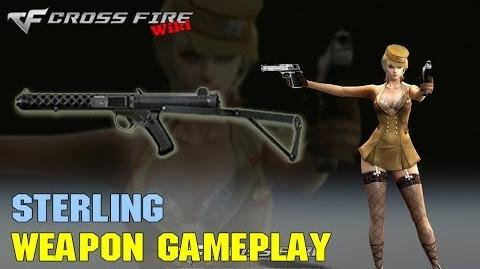 CrossFire - Sterling - Weapon Gameplay