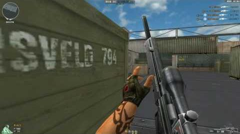 Cross Fire China -- PSG-1 Old Version 2008 (With Old Weapon Attributes)!