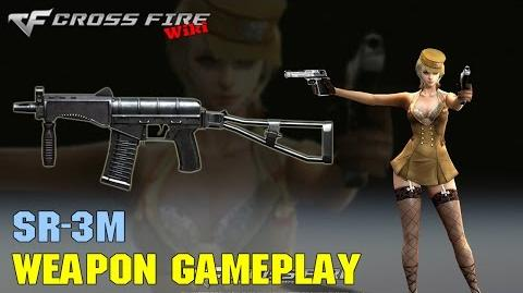 CrossFire - SR-3M - Weapon Gameplay