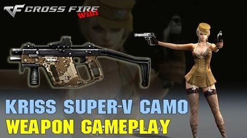 CrossFire - Kriss Super-V Camo - Weapon Gameplay