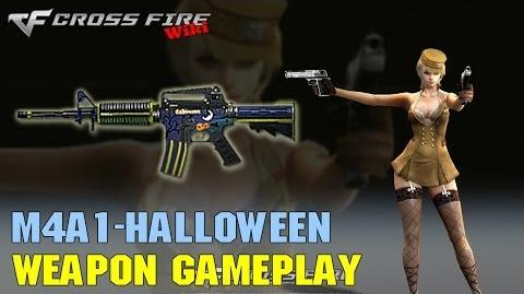 CrossFire - M4A1 Halloween - Weapon Gameplay