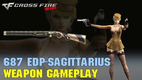 CrossFire - 687 EELL Diamond Pigeon-Sagittarius - Weapon Gameplay