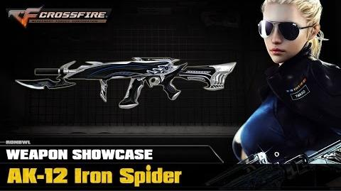 CF China - AK-12 Iron Spider (Showcase)