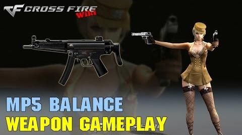 CrossFire - MP5 Balance - Weapon Gameplay