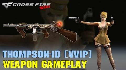 CrossFire - Thompson Infernal Dragon VVIP - Weapon Gameplay