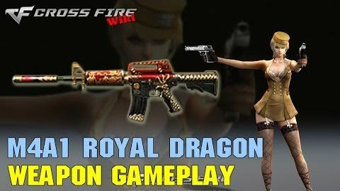 CrossFire - M4A1 Royal Dragon - Weapon Gameplay