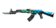 AK47 Knife TurtleShell