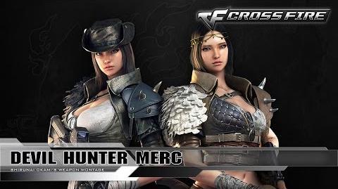 CrossFire Character - Devil Hunter Merc ☆