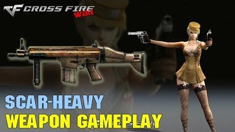 CrossFire - SCAR-Heavy - Weapon Gameplay