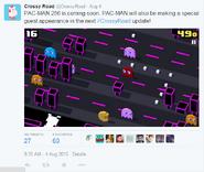 Pac-Man's coming!
