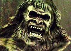 Angry bigfoot
