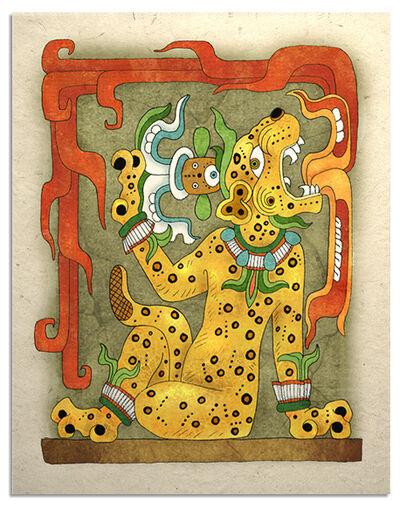 Mayan jaguar