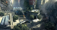 Crysis 2 wall street by tiger1313-d49psbn