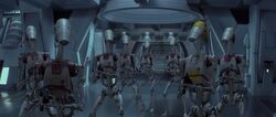 OOM battle droids
