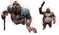 Host heavy zombie hitbox