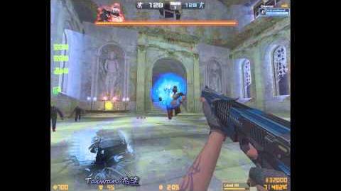【希望視頻】韓服CSO 藍色獵魔者(Balrog-1 Blue) 武器測試(1080 HD) 2014 07 26
