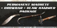 Zsh machete hammer crowbar singaporemalaysia poster