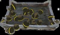 Grenade tray
