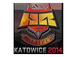 Sticker-katowice-2014-hellraisers-holo