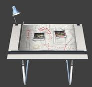 De alleyway Drawing table plans