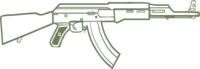 Ak47 hud outline csgoa