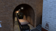 De train bombsite B target