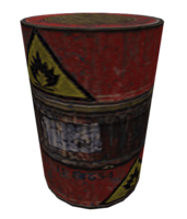Exploding barrel cz