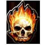 Csgo-Pin flameskull