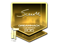 Csgo-cluj2015-sig scream gold large