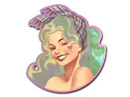 File:Csgo-stickers-pinups capsule-ivette holo.png