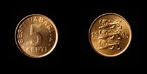 Estonia 5 senti 1995
