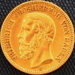 Baden Friedrich I 20 Mark