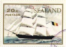 Sealand stamp